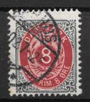 Danmark 1902 - AFA 25C - stemplet