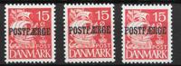 Denmark 1936 - PF AFA 16,a,b - Mint