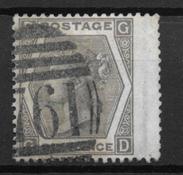 England 1872 - AFA 39 - Cancelled
