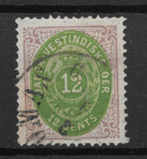 Danish West Indies  1876 - AFA 12 - Cancelled
