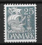 Danmark 1933 - AFA 205 - ustemplet