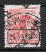East Germany 1948 - AFA 14 A - Cancelled