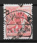 D.D.R 1948 - AFA 14 A - stemplet