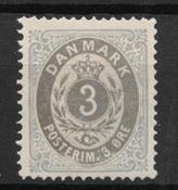 Denmark 1875 - AFA 22a - Unused