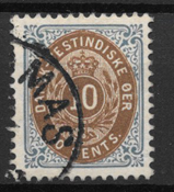 Danish West Indies  1901 - AFA 11B - Cancelled