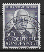 West Germany 1953 - AFA 1139 - Cancelled