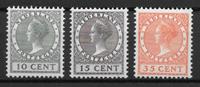 Alankomaat 1924 - AFA 138-140 - Käyttämätön liimakkeella