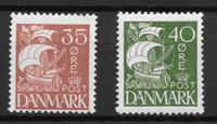 Denmark 1927 - AFA 173-174 - Mint