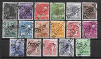 East Germany 1948 - AFA 1-16 - Cancelled
