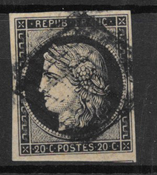 France 1849 - AFA 3 - Cancelled
