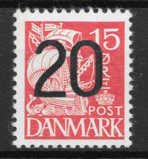 Danmark 1940 - AFA 264a - ustemplet