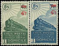 France - Colis postaux YT 205-206
