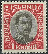 Island - Tjeneste - 1920