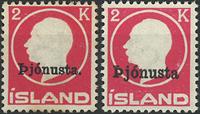 Island - Tjeneste - 1922