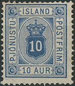 Island - Tjeneste - 1876