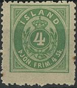 Island - Tjeneste - 1873