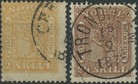 Norge - 1863-66
