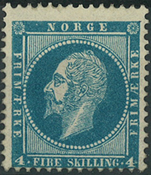 Norge - 1856