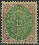 Dansk Vestindien - 1877