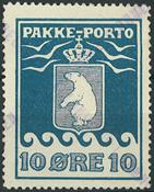 Grønland - Pakkeporto - 1905