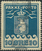 Grønland - Pakke porto - 1905