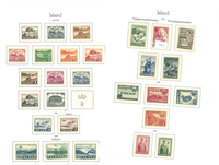 Island - Samling - 1947-78