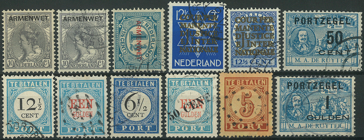Holland - Parti-Tjeneste/porto
