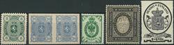 Finland - Samling - 1875-1986