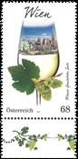 Austria - Wine gregion Vienna - Mint stamp