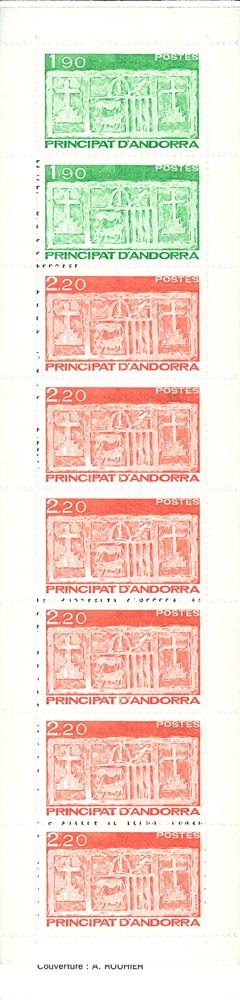 Andorre francais YT H1