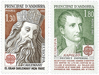 French Andorra YT 284-85