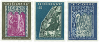 French Andorra YT 221-23