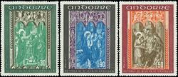 Andorre francais YT 214-16