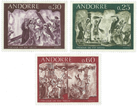 French Andorra YT 191-93