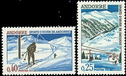 Andorre francais YT 175-76