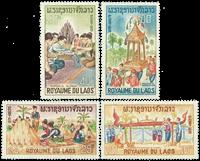 Laos 1966 - YT 134-37 - Mint