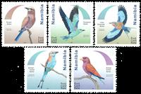 Namibia - Ellekrager - Postfrisk sæt 5v