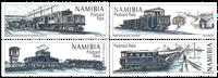 Namibia - Diamond Trains - Mint set 4v