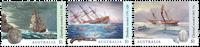 Australien - Skibsvrag - Postfrisk sæt 3v