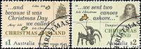 Christmas Islands - Opdagelsesrejsende - Stemplet sæt 2v