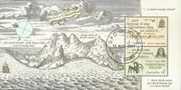 Christmas Islands - Opdagelsesrejsende - Stemplet miniark