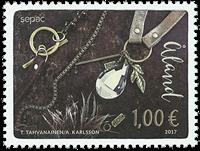 Åland - Sepac 2017 - Postfrisk frimærke
