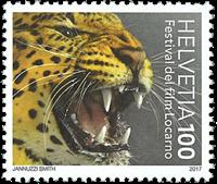 Switzerland - Festival del film - Mint stamp