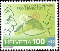 Switzerland - Pro Senectute - Mint stamp