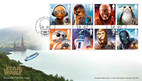 Great Britain - Star Wars - First Day Cover 8v