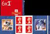 Great Britain - Star Wars Droids - Mint booklet
