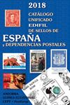 Edifil katalog - Spanien og kolonier 2018