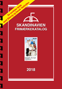 AFA catalogues Scandinavië 2018 met spiraal bindin