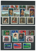 Lichtenstein Year set 1982 - Without souvenir sheets - Mint