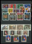 Liechtenstein årgang 1981 postfrisk
